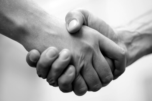 The Importance of a Handshake