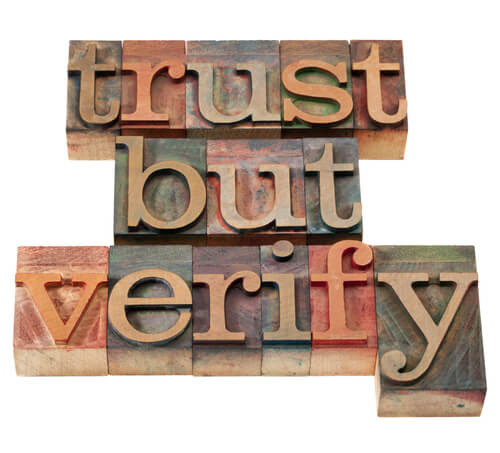 trust verify information governance
