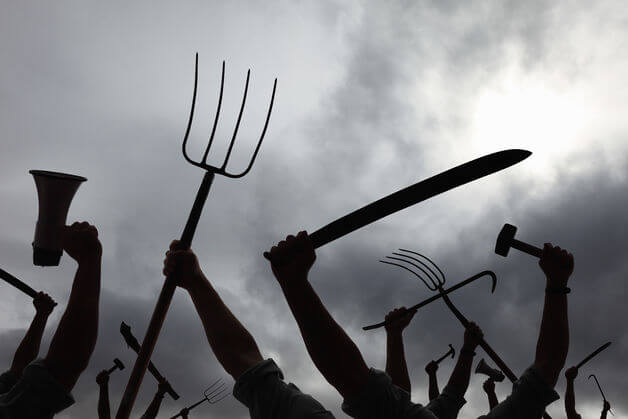 torches and pitchforks
