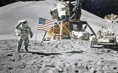 Beneath a Kennedy Moon