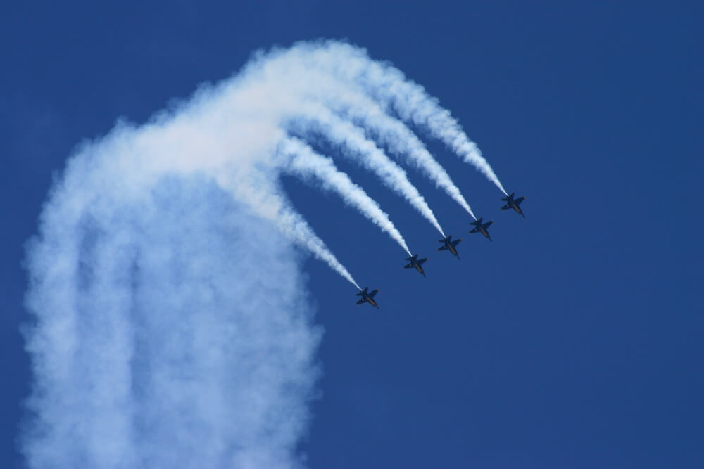 Being Committed: What I Learned by watching the Blue Angels