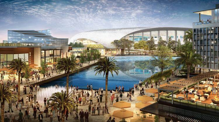 LA Stadium & Entertainment District Is Stirring Things Up in Inglewood